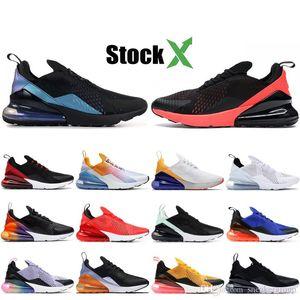 Designer 270OG Throwback Future Mens Running Sneakers Bred Triple Black White French Champion Designer Shoes Splashing ink Men Women Shoes