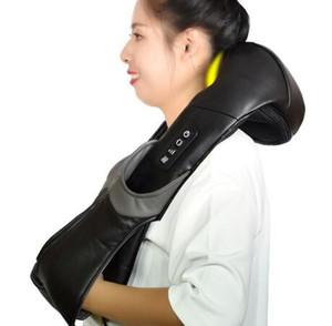 Massaggio per massaggiatore del collo Pelle elettrica Shiatsu indietro Massaggiatori Massaggi elettrici per le spalle