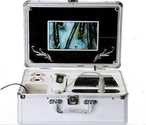 두 개의 렌즈 머리카락 피부 테스트 스캐너 악기와 새로운 도착 헤어 카메라 피부 시험기 두피의 머리카락 탐지기