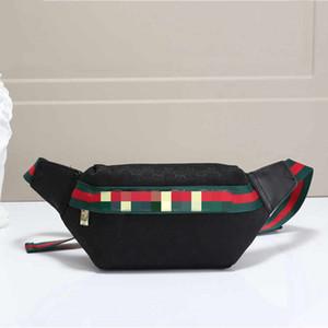 2020 Tasarımcı Bel Çantası Erkekler Kadınlar Lüks Fannypack Göğüs Çanta Tasarımcı Çanta İçin Kadınlar Günlük Moda Fanny Çapraz Vücut Paketi 20062702CE
