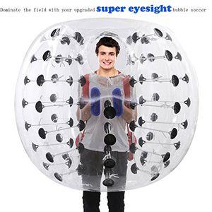 1,5m 0.8mm Şişme Tampon Futbol Vücut Zorbing Kabarcık Futbol Topu İnsan Bouncer Profesyonel üreticisi