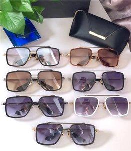 popüler Aviator Güneş Gözlüğü Retro Saf Titanyum Erkekler ve Kadınlar Dita Aynı Gözlük DTS199 Tide Renkli Film Güneş Klasik Ayna parrity