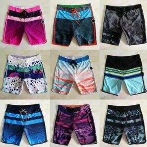 Hombres Bermuda Boardshort camuflaje del verano de rayas cortocircuitos de la playa del traje de baño de secado rápido resistente al agua Surf cortocircuitos de la marca para hombre Pantalones cortos 05 Diseñador