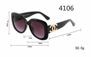 Lunettes de soleil de qualité supérieure pour les femmes de la mode Vassl Designer Designer Cadre en métal doré Rouge coloré lunettes de soleil Lunettes Come Brown