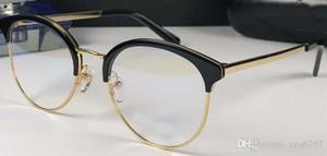 Classic women simple style optical glasses cat eye design frame transparent lens popular fashion clear eyewear 3387
