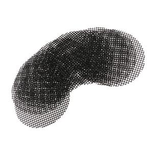 Folha de plástico Drenagem malha Bonsai Flowerpot inferior Bug Net 10 cm 10pcs