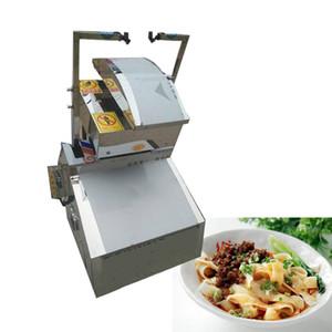 Commercial faca de aço inoxidável máquina de macarrão Noodle elétrica fabricante de máquinas Handmade Noodles Dough Cutter é simples e conveniente