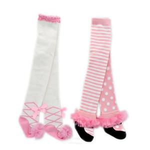 Baby Girls 팬티 스타킹 레깅스 Girls Princess Pantyhose 여성 베이비 렌셔 팬츠 스타킹 코튼 레깅스 레이스 줄무늬