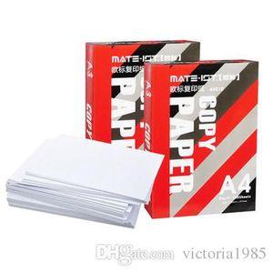 جديد يصل 500 ورقة / الكثير A4 الخشب الكامل الورق ولب الورق ناسخة 70G والمطبوعة ورقة بيضاء إمدادات مشروع مكتب