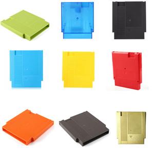 Pour NES Hard Case 60Pin Pour 72Pin Adaptateur pour Nin NES Card Game cartouche de logement Shell avec des vis de haute qualité SHIP FAST