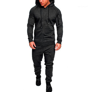 Clothing Sets Pantalones Outfits hoodies Mens Fashion Spring Hiphop Tracksuits Camouflage Designer Cardigan Hoodies Pants 2pcs