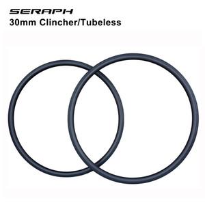 Carbon road bike rims 27mm wide carbon clincher rim ,tubular tire compatible aero U shape 30 35 40 45 50 56 86mm deep