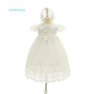Happyplus battesimo Baby Dress Wedding Outfit formale Baby Girl Lace Abiti compleanno 1 anno Baby battesimo Abiti Summer 2018 Y190516
