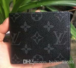 02 carteiras designers de carteira PU de moda em couro cross-carteira de cartão de homens de alta qualidade designers de carteiras saco do bolso bolsas estilo europeu quentes
