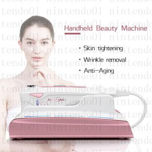 Taşınabilir hello cilt Ultrasonik HIFU Cilt Gençleştirme RF Kaldırma Güzellik Terapi Yüksek Yoğunluklu Odaklanmış Ultrason Cilt Bakımı Yüz Kaldırma