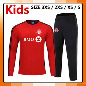 kit 2019 2020 Toronto FC enfants ensembles de vêtements de sport de formation de football, 19 20 Toronto FC le football jeunes enfants Survêtement uniformes en cours Ensembles