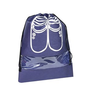 Drawstring Dust Cover Bag With PVC For Shoe,Eco-Friendly Non Woven Fabric bag,low price at best product