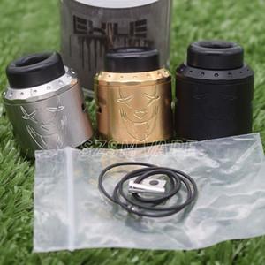exiler rda atomizzatore ricostruibile 25mm con BF armageddon mfg VS terk v2 apocalypse v3 kennedy 25 Goon rda