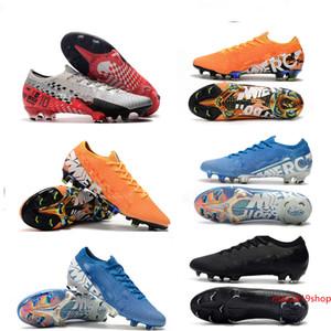 Squisito Mercurial vapori Xiii Elite Fg Cr7 Ronaldo Neymar NJR Shhh 13 360 Low caviglia Calcio Football Formato dei pattini 39-45