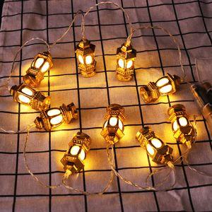 Eid al-Fitr Luz Cordas Luz LED de Cordas 1.65m 10 Led islâmico Eid Ramadan Decor Eid Mubarak Início Jardim Decoração