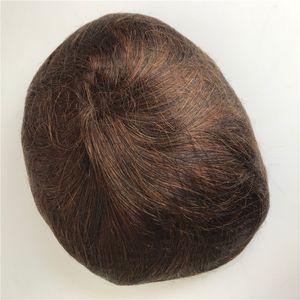 Tam PU Erkekler Peruk Huamn Saç erkek Peruk Ince Ince PU Yüksek Kaliteli Özelleştirilebilir Dayanıklı Erkekler Peruk Replaement Sistemleri