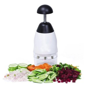 Novo Alimento Prático Vegetal Chop Cortador De Alho Triturador De Frutas Ferramenta Slap Chopper Slap Chop Fruit Vegetal Ralador De Alimentos Kit
