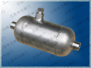 Stainless steel butt welding condensate container