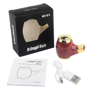 Authentisches KF 01 E Rohr Mod 900 mAh Rechageable Vaper Pen Batterie E Cig Vapor COCO Raucher Pen passen JUUL Vaporizer Geräte Carts