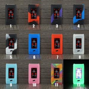 Morph 219 Casos de Silicone Capa de Pele De Silicone Manga De Borracha Capas Protetoras Para SMOK Morph 219 W Vape Kit Bateria Caixa Mod 12 Cores