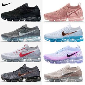 2020 Aire 2.0 Maxes 1.0 Ejecución de Calzado para Hombres atléticos entrenadores deportivos para mujer, zapatillas de deporte al aire libre Vaormax Negro Caminar con zapatos en línea