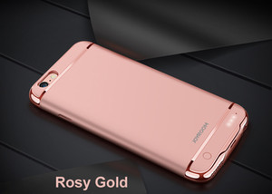 Battery Charger Cases for iPhone 6 6 s 7 8 Plus Power Bank Case Ultra Slim External Pack Backup Charger Case Cover for iphone 6s
