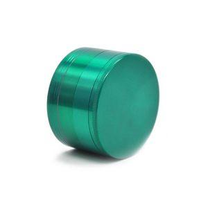 Metal Smoke Grinder 75MM Diameter in lega di zinco Smoke Grinder Manuale Smoke Grinder