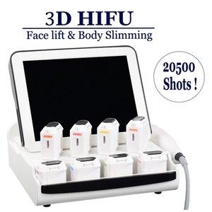 Retiro profesional 3D HIFU que adelgaza la grasa Tratamiento Focused Ultrasound la piel de la cara de cuerpo de apriete Pérdida de Peso Lipo máquina HIFU