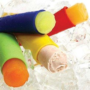 Silikon Buz Çubuk Kalıplar Formu İçin Dondurma Makinesi Diy Yaz Dondurulmuş Dondurma Kalıp Mutfak Aletleri Popsicle Maker Lolly Kalıp