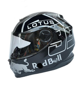 Motorrad-Offroad-Helm voller Helm Doppellinse Männer und Frauen Winter Lokomotive warme volle Abdeckung vier Jahreszeiten Schutzhelm