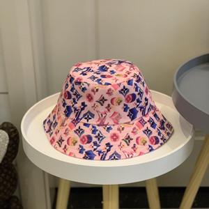 Unisexe chapeau seau original avec les deux côtés de pêche chapeau de soleil en plein air Chine Lettre d'été pour les femmes pêcheur Hat 2020 nouvelle livraison gratuite 30