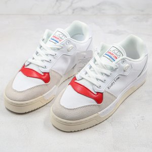 With Box New Canvas Shoes Canvas White Red Rivalry Low Classic Retro Board Shoes Men Women Trend Casual Shoes 36-44