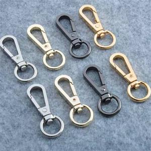 Equipaje de hardware Llavero bolsos de equipaje de aleación de zinc giratoria joyería hebilla hebilla mosquetón perro Cuality Aseguramiento 8