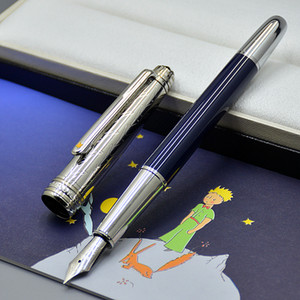 جودة عالية بوتي الأمير Meisterstk 163 نافورة القلم الأدوات المكتبية الفاخرة 4810 بنك الاستثمار القومي أقلام الحبر الخط لعيد ميلاد هدية