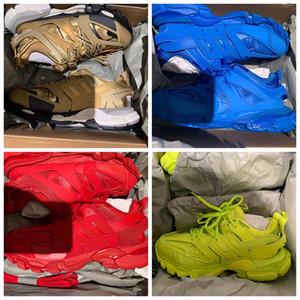 Trainer Pista clásica zapatilla de deporte de los hombres Triplicador mujeres zapato zapatos planos ocasionales de la vendimia de zapatos de lujo diseñador de zapatos