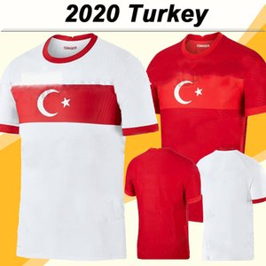 2020 Türkei Nationalmannschaft Herren Soccer Jerseys New Celik Demiral Ozan Kabak Calhanoglu Yazici Home Football Hemd Kurzarm Uniformen