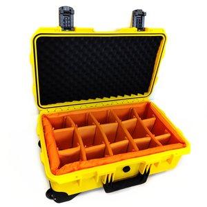 Fabrikpreis G512918 hart High-End-Elektronik-Kunststoff-Schale wasserdicht staubdicht stoßfest Kameraobjektiv Fotoausrüstung Kit