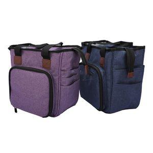 Портативный Вязальный мешок шерстяная пряжа крючки для вязания крючком пустые хранения швейные иглы организатор швейное вязание сумка для хранения сумка организатор KKA7959