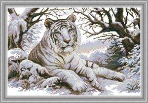 Tiger home cross stitch kit, ручной вышивки крестом вышивка рукоделие наборы подсчитали печать на холсте DMC 14CT /11CT