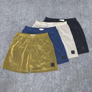 stone island 20SS concepteur mens topstoney shorts d'été Corsaires pantalons d'été de la mode hommes RUNNING pantalons de plage de séchage en vrac rapide