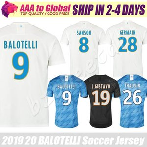 Maillot de Marseille 2020 Maillot de foot Maillots de foot PAYET SANSON THAUVIN 19 20 marseille noir troisième Maillots de foot BALOTELLI