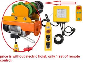 Беспроводной пульт дистанционного управления 100M для лебедки электрические тали с электрической тележкой мини PA100-1000кг ПА подъем
