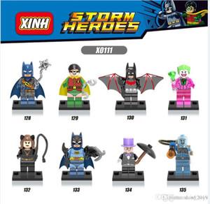 Süper Kahramanlar Batman penguen Robin Joker Kedi Kadın Bebekler Çocuk Hediye Oyuncak X0111