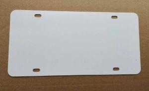 New Style Sublimation Blank Metal Blank Car Lancia targa Prodotto Prodotto Hot Heart Transfer Stampa DA TE Consumabili personalizzati DAY Tag 29.5 * 14.5 cm