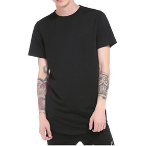 New Fashion Men Slim Fit T-Shirt Cotton Crew Neck Short Sleeve Patchwork Fashion Summer Tops Casual Street Wear